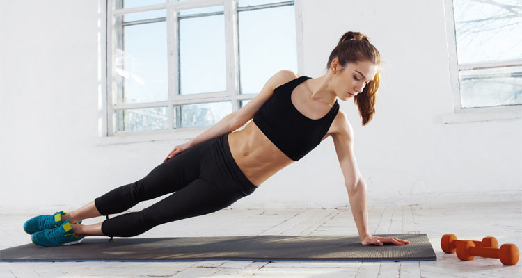 Stacked Side Plank