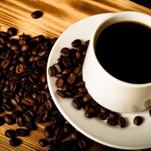 Workout boost with coffee